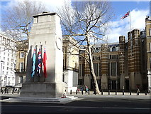 TQ3079 : Cenotaph and Richmond House by Rudi Winter