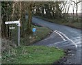 ST6303 : The amazing Batcombe turn off on Gore Hill by Becky Williamson