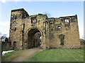 SE3706 : Monk Bretton Priory, gatehouse from the south by Jonathan Thacker