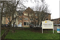 SP2865 : New accommodation at Park View, Priory Road, Warwick by Robin Stott