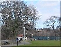 NT2273 : Roseburn Park, Edinburgh by Jim Barton