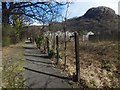 NS4174 : Path from the Dumbuck House Hotel by Lairich Rig