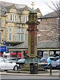 NY9364 : The Hexham Pant, Market Place by Andrew Curtis