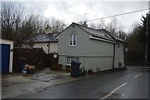 SX9888 : House on the corner of Ebford Lane by N Chadwick