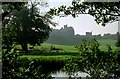NU1813 : Alnwick Castle from across the River Aln by Martin Tester