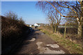 TA0409 : Track leading to Wrawby Junction by Ian S