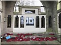 SJ9042 : Interior of Longton war memorial by Jonathan Hutchins