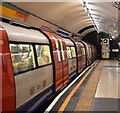 TQ3080 : Northern line train at Charing Cross Station by N Chadwick