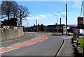 SN4501 : Bend in the A484, Burry Port by Jaggery