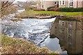 NT2540 : Weir on the Cuddy, Peebles by Jim Barton