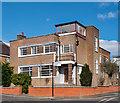 TQ1881 : Flat-roofed house, Hanger Hill (Haymills) Estate by Julian Osley
