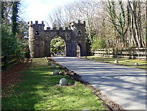 J3532 : The Barbican Gate at Tollymore by Eric Jones