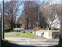 J3532 : View across Bryansford Road towards the Barbican Gate by Eric Jones