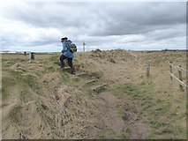 TA0983 : Path diversion on the Cleveland Way by Oliver Dixon