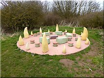 TA1281 : The Dragon Ring in Filey Country Park by Oliver Dixon