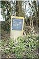 TF0940 : Stop valve sign by Bob Harvey