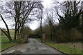 TQ3405 : Entrance to Lawn Memorial & Woodland Valley Natural Burial Ground by Adrian Cable
