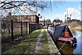 SJ6775 : Trent and Mersey canal alongside Lion Salt Works by Norman Caesar