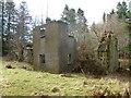 NS8245 : Ruins of Brodiehill by Alan O'Dowd