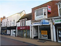 SU6351 : Shops along Winchester Street by Sandy B