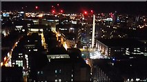 SJ8397 : Manchester at Night by Anthony Parkes