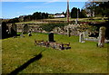 ST4496 : Small burial ground in Gaerllwyd, Monmouthshire by Jaggery