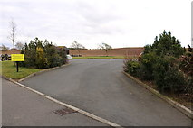 NS3528 : Parking at Monkton & Prestwick New Cemetery by Billy McCrorie