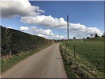 SJ7744 : Hungerford Lane by Jonathan Hutchins