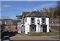NT4936 : The Abbotsford Arms Hotel, Galashiels by Walter Baxter
