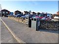SE2824 : Ardsley Reservoir: litter bins by Stephen Craven