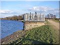 SE2924 : Ardsley Reservoir: valve tower by Stephen Craven
