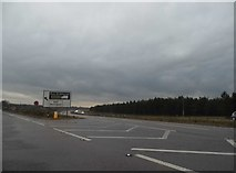 TL8481 : The old and new A11 junction, Elveden by David Howard