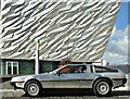 J3575 : DeLorean car, Titanic Quarter, Belfast (March 2018) by Albert Bridge