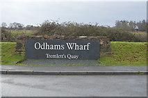SX9788 : Odhams Wharf by N Chadwick