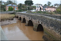 SX9788 : Topsham (Clyst) Bridge by N Chadwick