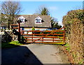 ST4299 : Entrance to Chapel Farm, Llangwm, Monmouthshire by Jaggery