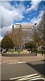 TQ3296 : Enfield Civic Centre by Paul Bryan