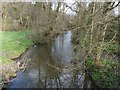 SK3375 : Confluence of Crowhole and Dunston Brook, nr Common Side by Dave Dunford