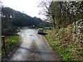 SK3475 : Entrance to Barlow Fishery by Dave Dunford