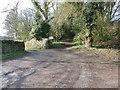 SK3475 : Start of Gateland Lane by Dave Dunford