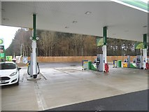 TL8584 : BP garage on the Thetford bypass by David Howard