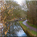 ST2888 : A springtime view towards lock 17, Fourteen Locks, Newport by Robin Drayton