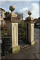 ST5874 : Gatepiers, Zetland Road, Bristol by Derek Harper