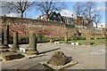 SJ4066 : The Roman Gardens and City Walls, Chester by Jeff Buck