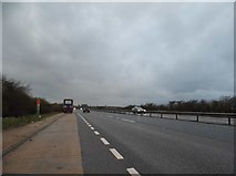TL5759 : Layby on the A11, Newmarket Bypass by David Howard