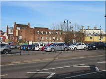 SU6351 : Castons Yard short stay car park by Sandy B