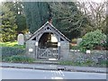 SK3474 : Lych gate, Barlow by Dave Dunford