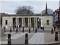 SD3317 : Southport war memorial - eastern colonnade by Stephen Craven