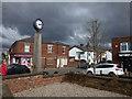 SD4412 : Burscough town clock by Stephen Craven