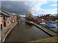 SD4412 : The canal at Burscough  by Stephen Craven